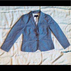 Talbots Checkered Blazer